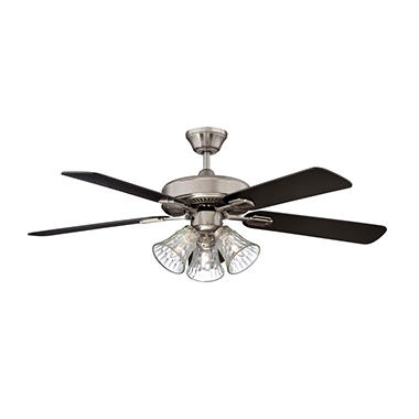 Concord by Luminance 42 in. Richmond Ceiling Fan (Stainless Steel)