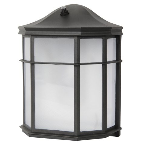 Luminance LED Wall Lantern w/ Photo Cell