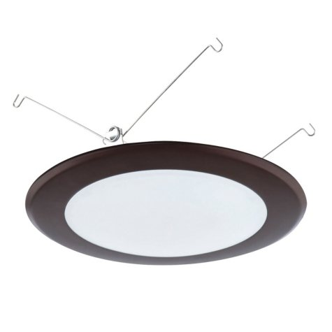 Luminance LED Disk Light 15W, 3000K, 1050 Lumens (Oiled Bronze)