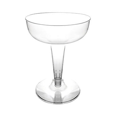 Party Essentials Plastic Champagne Glasses, 4 oz. (400 ct.)
