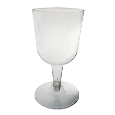 Party Essentials Plastic Wine Glases, 5.5 oz. (400 ct.)