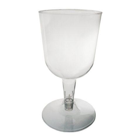Party Essentials Plastic Wine Glases, 5.5 oz. (400 ct.)