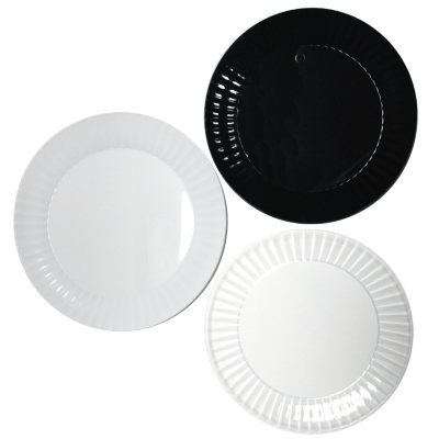 Party Essentials Deluxe Plastic Plates 6  Select Color (288 ...  sc 1 st  Samu0027s Club : disposable plates with cup holder - Pezcame.Com