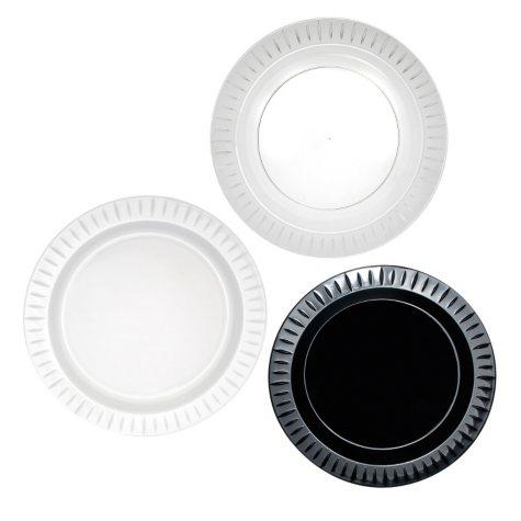 "Party Essentials Elegance Plastic Plates, 9"", Select Color (168 ct.)"