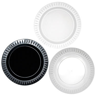 Party Essentials Elegance Plastic Plates, 10.25
