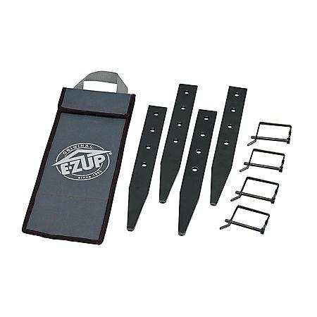 E-Z UP Heavy Duty Stake Kit, 4 Pack