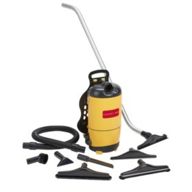 Carpet Pro SCBP-1 Commercial BackPack Vacuum with Tools