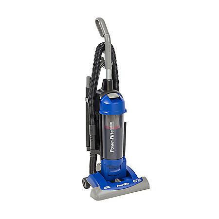 """Powr-Flite 15"""" Commercial Upright Bagless Vacuum with HEPA & On-Board Tools"""