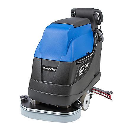 """Powr-Flite Phantom 24"""" Battery Powered Floor Scrubber with Battery"""