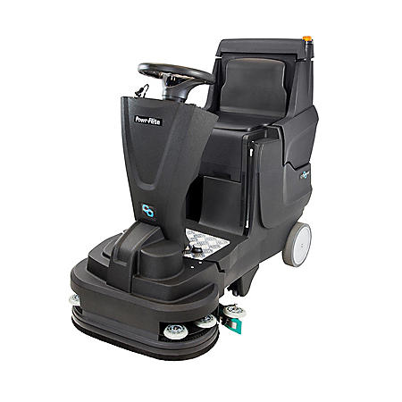 """Powr-Flite PAS26R Crossover 26"""" Ride-On Scrubber"""