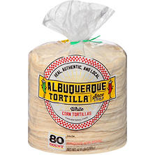 Albuquerque Tortilla Company White Corn Tortillas (80 ct.)