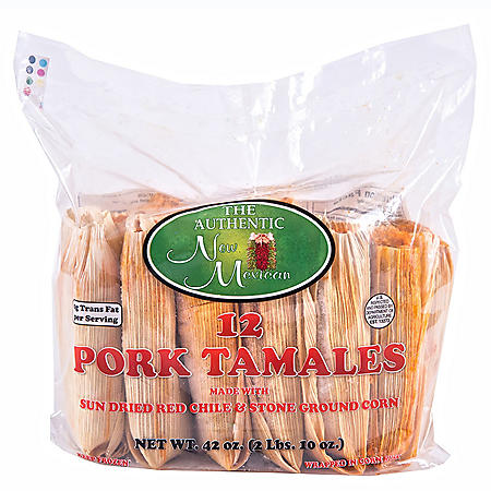 Authentic New Mexican Pork Tamales (12 ct.)