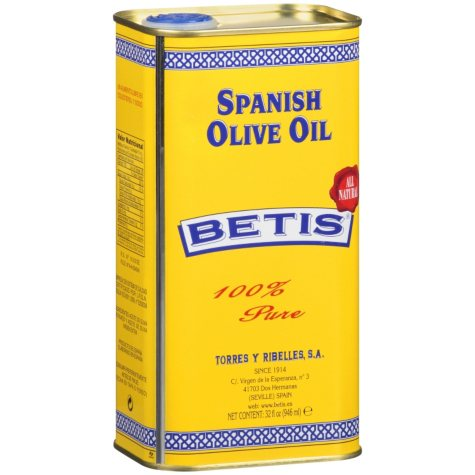 Betis® Spanish Olive Oil - 32 oz.