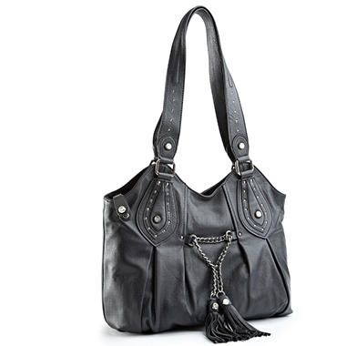 Allison Scott Leather Vivian Tote - Black
