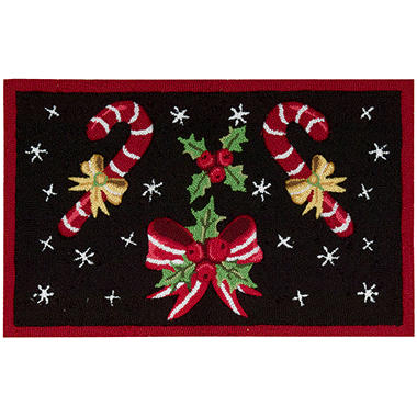 Nourison Hand Hooked Holiday Accent Rug - 20