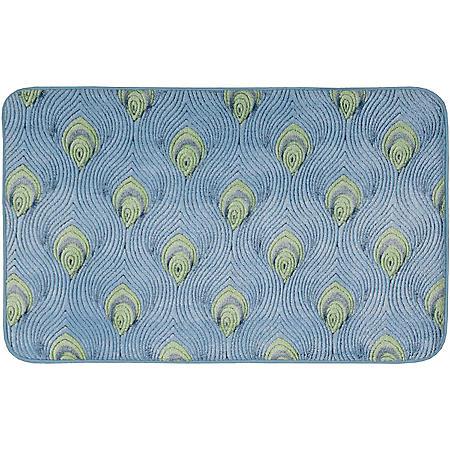 Ultra Comfort Bath Decorative Area Mat By Nourison, 21 x 34 (Various Colors)