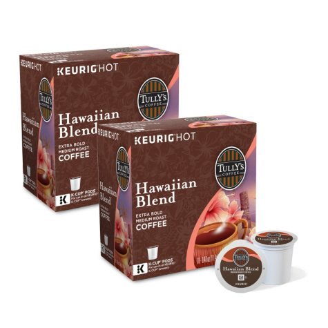 Tully's Coffee, Hawaiian Blend, K-Cup Pods (180 ct.)
