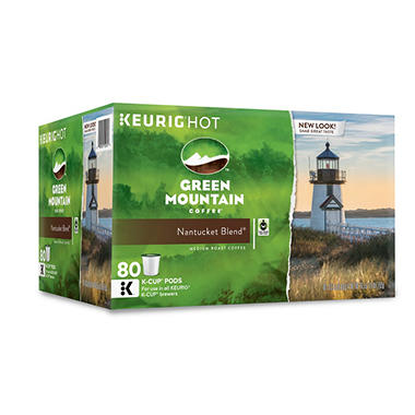 Green Mountain Coffee, Nantucket Blend (80 K-Cups)