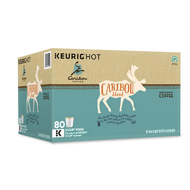 Caribou Coffee Blend (80K-Cup)