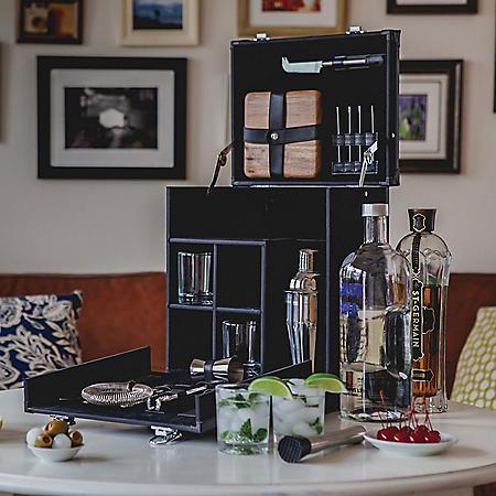 Travel Cocktail Bar Caddy
