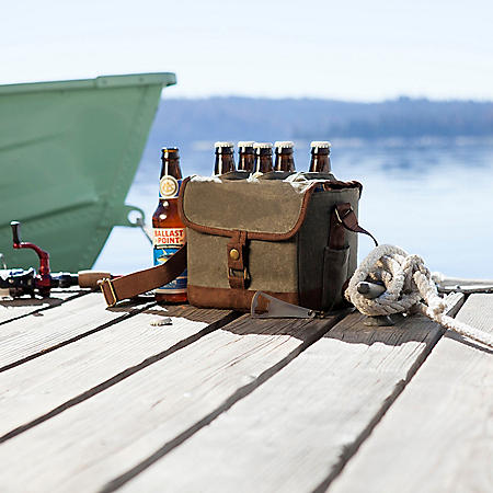 Soft-Sided Drink Carrier with Bottle Opener (Assorted Colors)