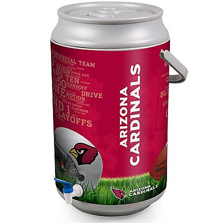 Mega Drink Can Beverage Dispenser and Cooler (Various NFL/NCAA Teams)