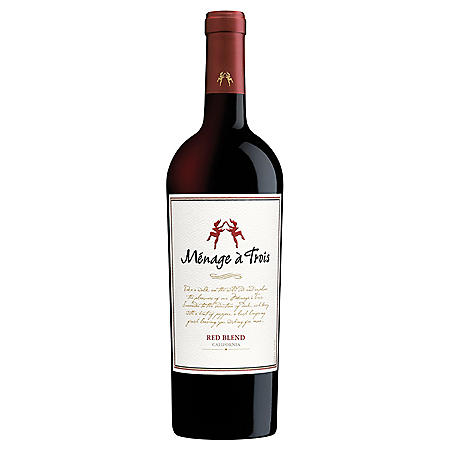Menage a Trois California Red Blend (750 ml)