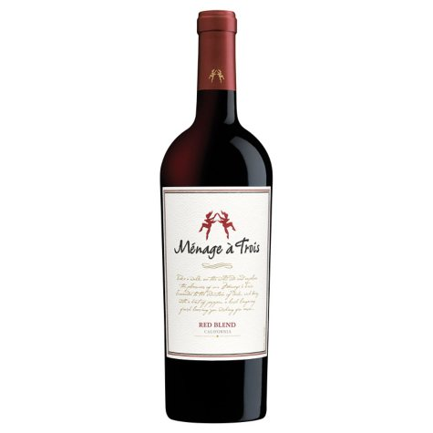 Menage a Trois Red Blend (750 ml)
