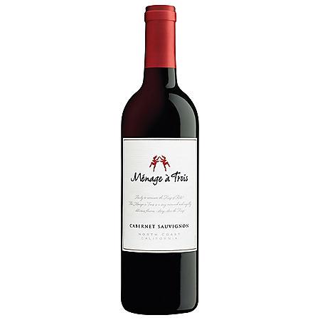 MENAGE A TROIS CABERNET 750ML