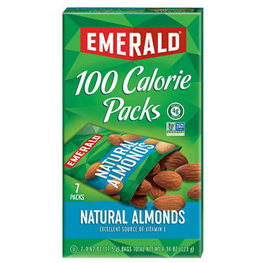Emerald Natural Almonds, 100 Calorie Packs (7.63 oz. pks., 84 ct.)