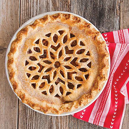 Nordic Ware 4-Piece Pie Baking Kit with Decorative Crust Cutter (Heart/Lattice)