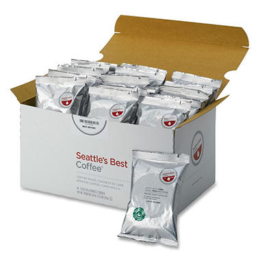 Seattle's Best Portion Packs Decaffeinated Coffee - 2 oz. - 18 ct.