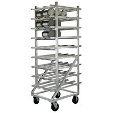 New Age Industrial Heavy Duty Storage Can Rack