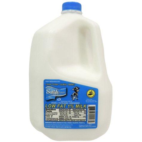 Sarah Farms 1 % Low Fat Milk (1 gallon)