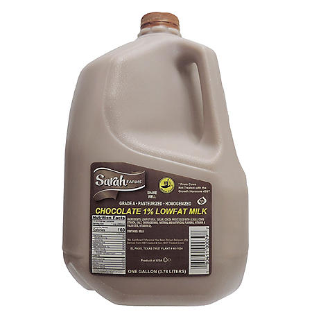 Sarah Farms 1% Low Fat Chocolate Milk (1 gallon)