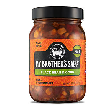 My Brother's Salsa Black Bean & Corn - Mild - 6 pk.
