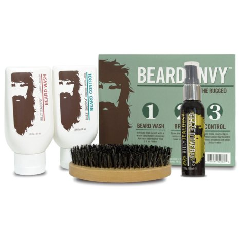 Billy Jealousy Beard Envy Refined the Rugged Kit
