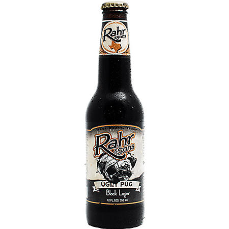 Rahr & Sons Ugly Pug Black Lager (12 fl. oz bottle, 6 pk.)