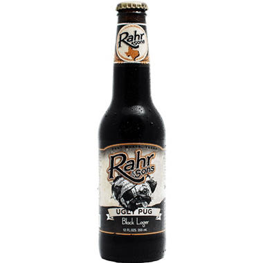RAHR UGLY PUG 6 / 12 OZ BOTTLES