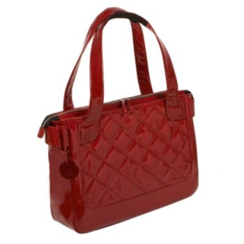 WIB VAN2 Women in Business Vanity Quilted Patent Tote