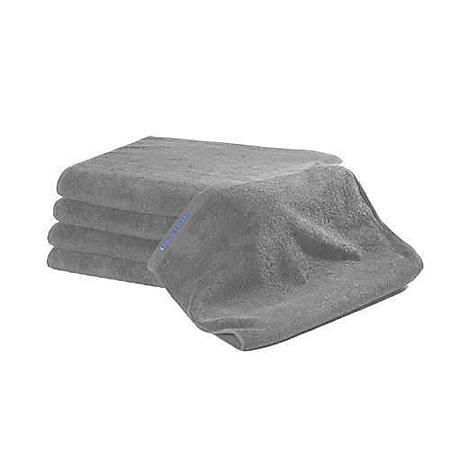 "Bleachsafe® Bath Towels 24"" x 50"" - 24 pk. - Grey"