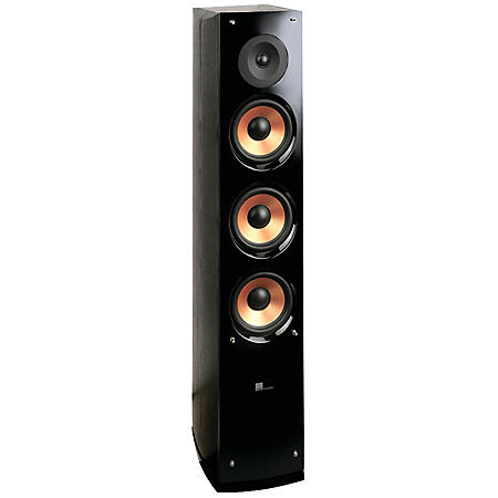 Pure Acoustic Supernova Series 2-Way 6.5-Inch Tower Speaker With Lacquer