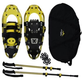 "Mountain Tracks Pro Series 20.5 "" Snowshoe Set, Yellow"