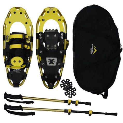 "Mountain Tracks Pro Series 20.5 "" Snowshoe Set, Yellow"