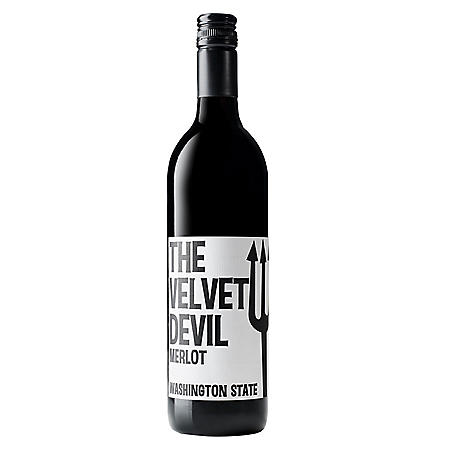 +THE VELVET DEVIL MERLOT 750ML