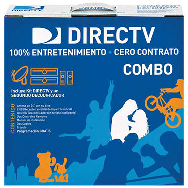 DirecTV Zero Contract Combo Kit