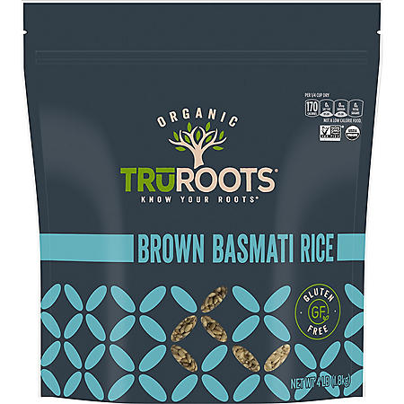 TruRoots Organic Brown Basmati Rice (4 lb.)