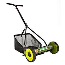 "Sun Joe Mow Joe 16"" Manual Reel Mower with Catcher"