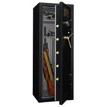 Mesa Safe All Steel MBF5922E 7.6 cu. ft. Capacity 14 Gun Burglary & Fire Safe with a High Security Electronic Lock