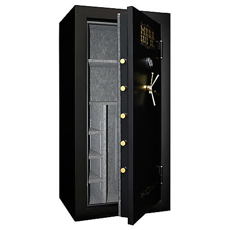 Mesa Safe All Steel MBF7236E 21.1 cu. ft. Capacity 42 Gun Burglary & Fire Safe with a High Security Electronic Lock